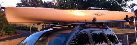 Carting Your Kayak Feature
