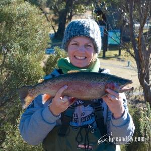 Vicki Lake Crackenback Trout DSC_5739