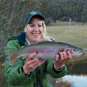 Tani Lake Crackenback Trout DSC_5795
