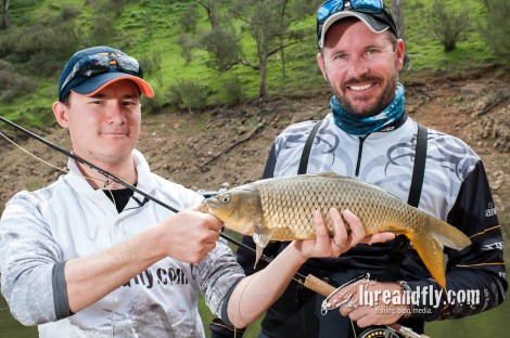 Fly fishing for carp 07