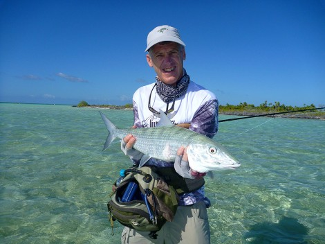 Dave Donovan with a lureandfly.com bonefish