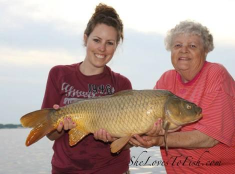 Grandma's carp