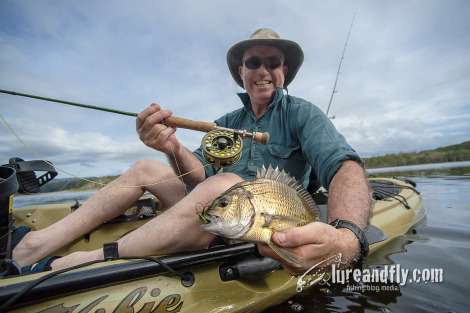 bream-on-fly