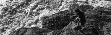 rock fishing feature
